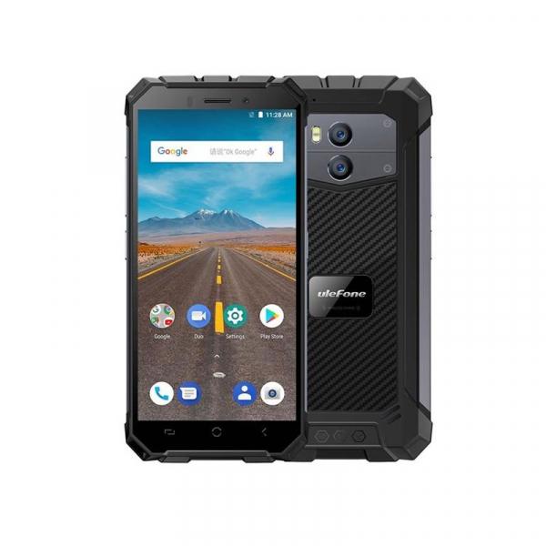 Telefon mobil Ulefone Armor X 4G, Waterproof IP68, 2GB RAM 16GB ROM, Quad Core, 5.5 inch, Amprenta, Android 8.1, Camera dubla, DualSim 4
