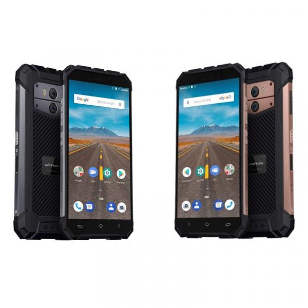 Telefon mobil Ulefone Armor X 4G, Waterproof IP68, 2GB RAM 16GB ROM, Quad Core, 5.5 inch, Amprenta, Android 8.1, Camera dubla, DualSim 0