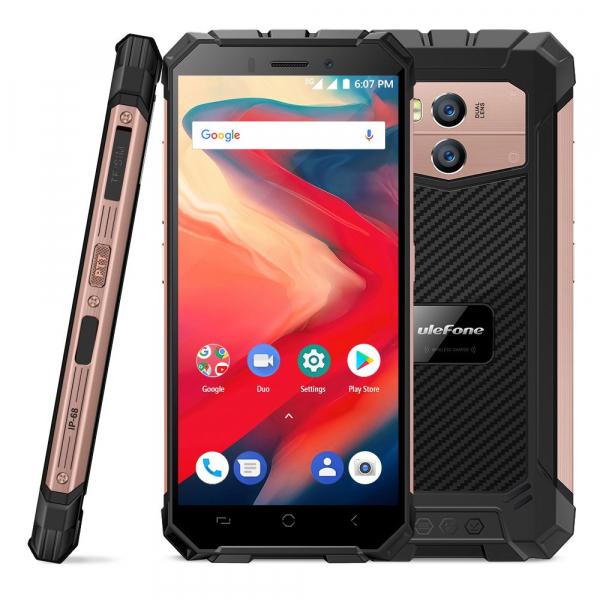 Telefon mobil Ulefone Armor X2, Waterproof, NFC, QuadCore, Android 8.1, 2GB RAM, 16GB ROM 2