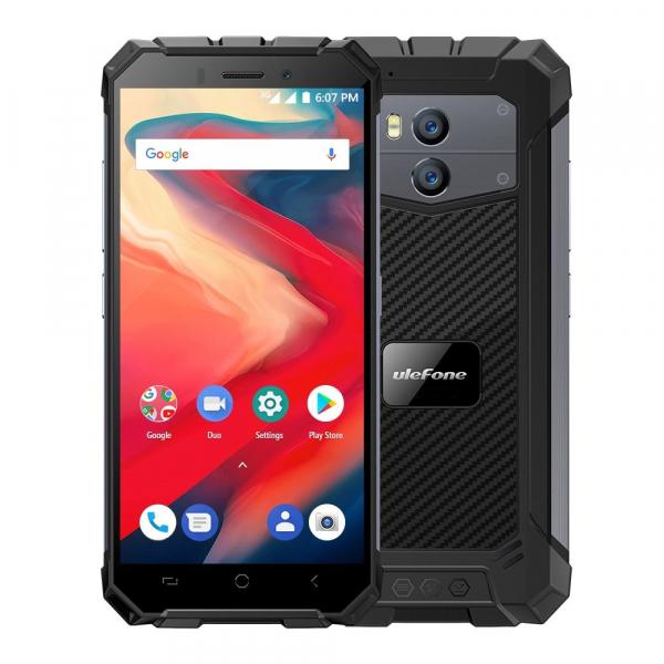 Telefon mobil Ulefone Armor X2, Waterproof, NFC, QuadCore, Android 8.1, 2GB RAM, 16GB ROM imagine