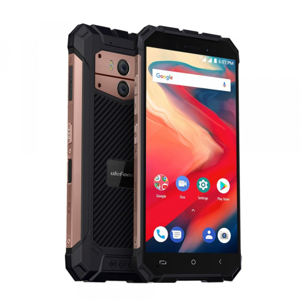 Telefon mobil Ulefone Armor X2, Waterproof, NFC, QuadCore, Android 8.1, 2GB RAM, 16GB ROM 4