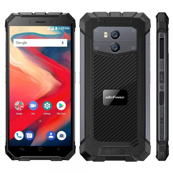 Telefon mobil Ulefone Armor X2, Waterproof, NFC, QuadCore, Android 8.1, 2GB RAM, 16GB ROM 3