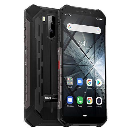 Telefon mobil Ulefone Armor X3, IPS 5.5 inch, 2GB RAM, 32GB ROM, Android 9.0, MediaTek MT6580, ARM Mali-400 MP2, QuadCore, 5000mAh, Dual Sim 1