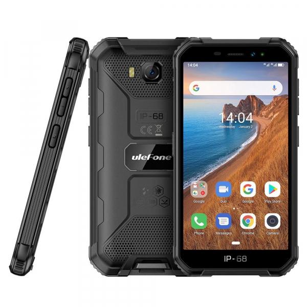 Telefon mobil Ulefone Armor X6, 3G, IPS5.0inch, 2GB RAM, 16GB ROM,MediaTek MT6580QuadCore, ARM Mali-400, Android 9.0, 4000mAh 4