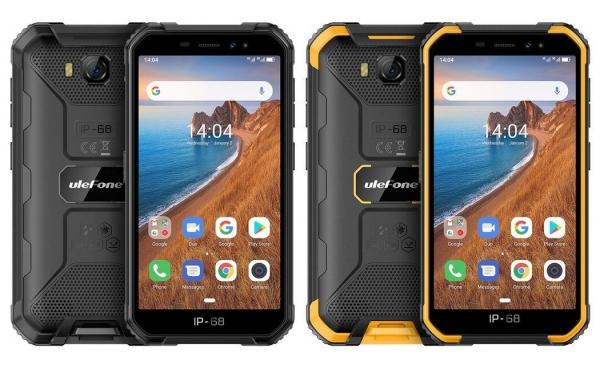 Telefon mobil Ulefone Armor X6, 3G, IPS5.0inch, 2GB RAM, 16GB ROM,MediaTek MT6580QuadCore, ARM Mali-400, Android 9.0, 4000mAh 0