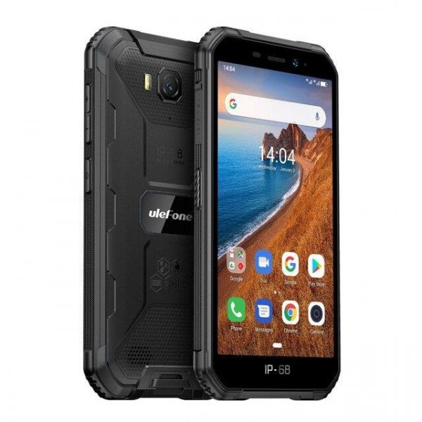 Telefon mobil Ulefone Armor X6, 3G, IPS5.0inch, 2GB RAM, 16GB ROM,MediaTek MT6580QuadCore, ARM Mali-400, Android 9.0, 4000mAh 3