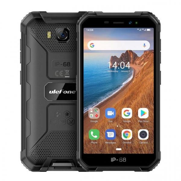 Telefon mobil Ulefone Armor X6, 3G, IPS5.0inch, 2GB RAM, 16GB ROM,MediaTek MT6580QuadCore, ARM Mali-400, Android 9.0, 4000mAh 1