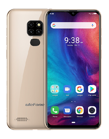 Telefon mobil Ulefone Note 7P, IPS 6.1inch, 3GB RAM, 32GB ROM, Android 9.0,Helio A22, PowerVR GE8300, QuadCore, 3500mAh, Dual Sim 7