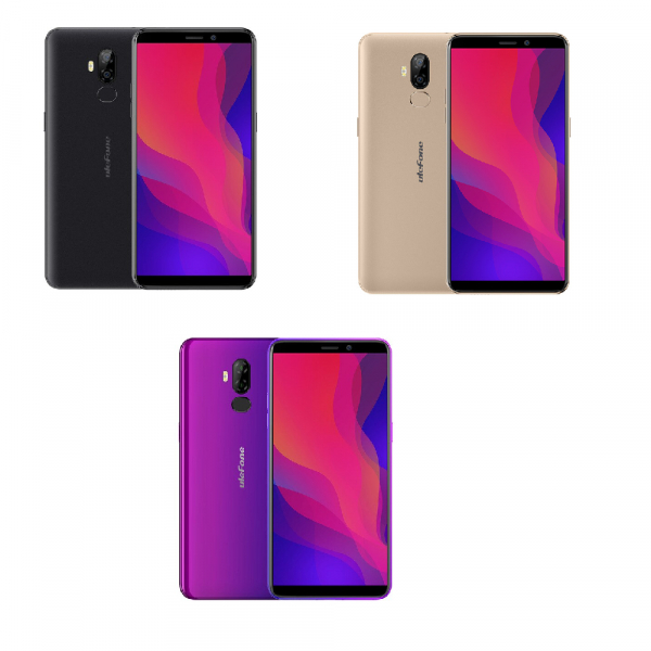 Telefon mobil Ulefone P6000 Plus, Android 9.0, 3GB RAM, 32GB ROM, 6.0 Inch 18:9 HD+, MT6739 OuadCore, 6350mAh, Face ID 0