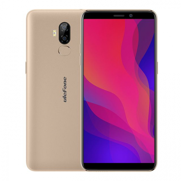 Telefon mobil Ulefone P6000 Plus, Android 9.0, 3GB RAM, 32GB ROM, 6.0 Inch 18:9 HD+, MT6739 OuadCore, 6350mAh, Face ID 3