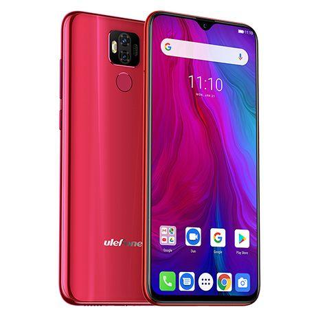 Telefon mobil Ulefone Power 6, 4G, IPS 6.3inch, 4GB RAM, 64GB ROM,MediaTek Helio P35 OctaCore, Android 9.0, 6350mAh, NFC, Dual SIM 1