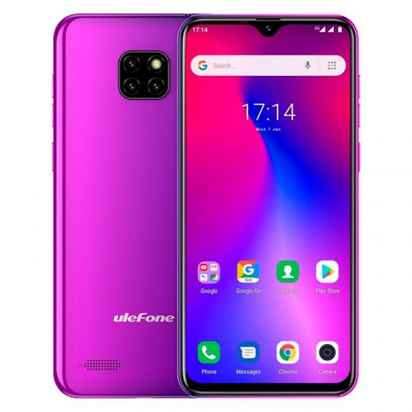Telefon mobil Ulefone S11, IPS 6.1inch, 1GB RAM, 16GB ROM, Android 8.1, MediaTek MT6580, ARM Mali-400 MP2, QuadCore, 3500mAh, Dual Sim 1