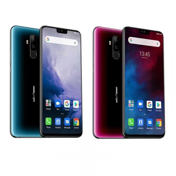 Telefon mobil Ulefone T2, 6GB RAM, 128GB ROM, Android 9.0, MediaTek Helio P70, ARM Mali-G72 MP3, Octa-Core, 6.7 inch, 4200 mAh, Dual SIM 0