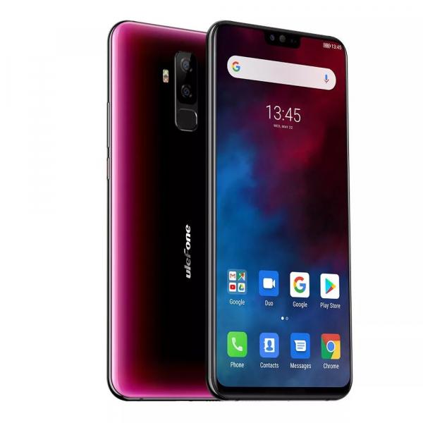 Telefon mobil Ulefone T2, 6GB RAM, 128GB ROM, Android 9.0, MediaTek Helio P70, ARM Mali-G72 MP3, Octa-Core, 6.7 inch, 4200 mAh, Dual SIM 2