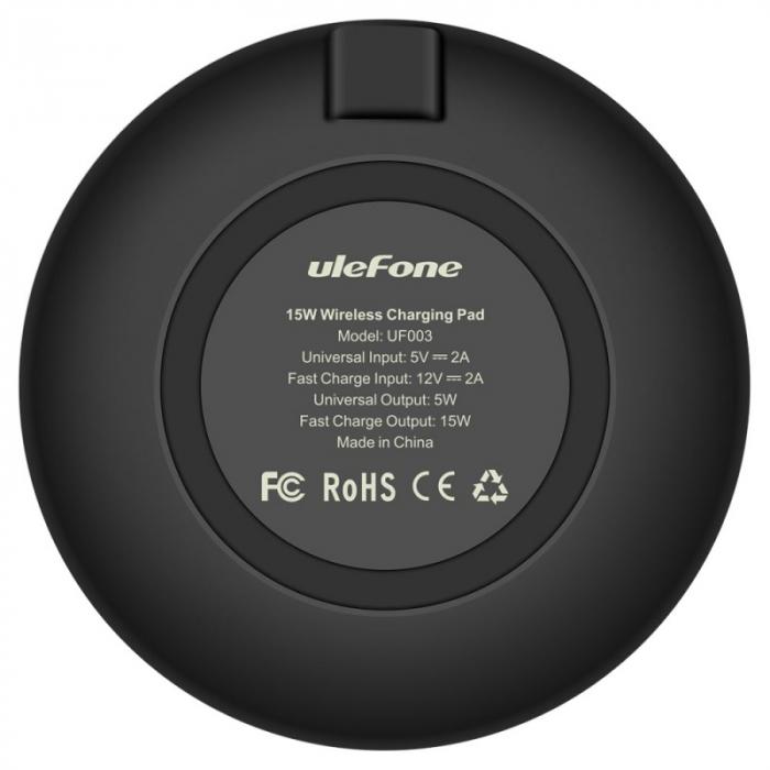 Incarcator wireless Ulefone UFO03 Negru 1