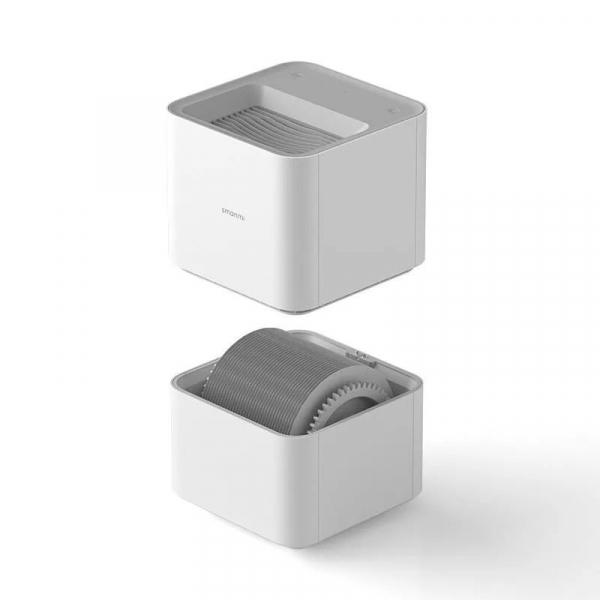 Umidificator aer Xiaomi Smartmi Pure Humidifier, Rezervor de 4 litri, 240ml/h, Wi-Fi, Control prin Mijia App, Global 2