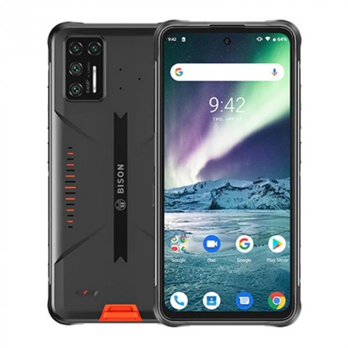 Telefon mobil UMIDIGI Bison GT 8/128 Orange 0