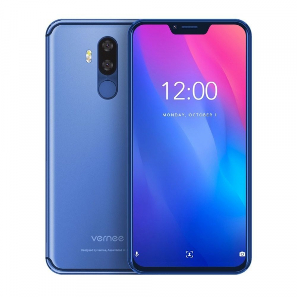 Telefon mobil Vernee M8 Pro, IPS 6.2inch, OctaCore, 6GB RAM, 64GB ROM, Android 8.1, Face ID, Incarcare Wireles, NFC, 4100mAh, AI Camera 4