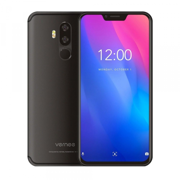 Telefon mobil Vernee M8 Pro, IPS 6.2inch, OctaCore, 6GB RAM, 64GB ROM, Android 8.1, Face ID, Incarcare Wireles, NFC, 4100mAh, AI Camera 1