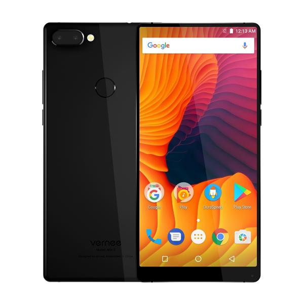 Telefon mobil Vernee Mix 2 4G VoLTe, 6.0 inchi, Full HD, Amprenta, 13 MP, 4GB RAM, 64GB ROM, Dual SIM 1