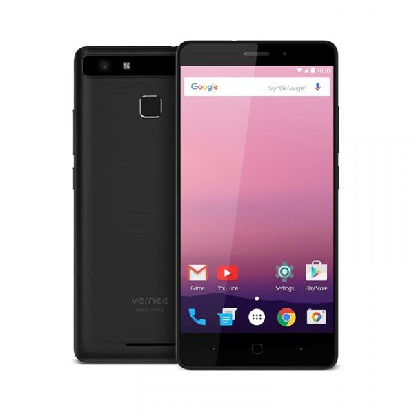 Telefon mobil Vernee Thor E  4G VoLTe, 5 inchi HD, Amprenta, 8 MP, 3GB RAM, 16GB ROM, Dual SIM 1