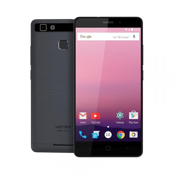 Telefon mobil Vernee Thor E  4G VoLTe, 5 inchi HD, Amprenta, 8 MP, 3GB RAM, 16GB ROM, Dual SIM 2