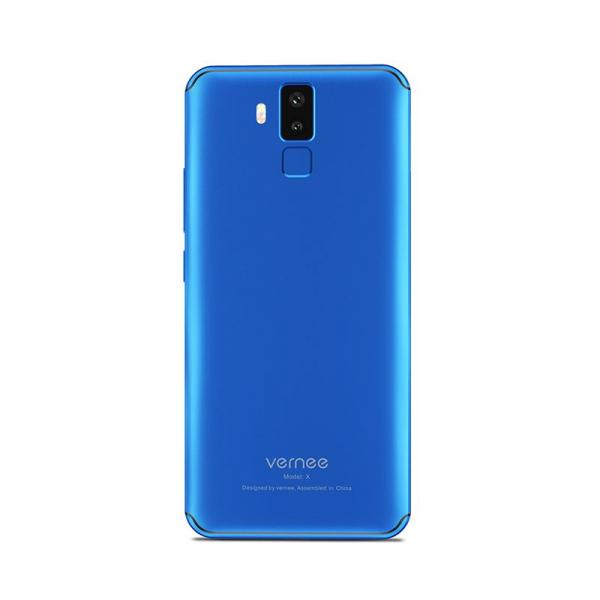 Telefon mobil Vernee X 4G, Ecran curbat 6.0 inch, Face ID, Amprenta, Android 7.1, Octa Core, 4GB RAM 64GB ROM 14