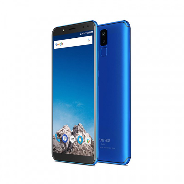 Telefon mobil Vernee X 4G, Ecran curbat 6.0 inch, Face ID, Amprenta, Android 7.1, Octa Core, 4GB RAM 64GB ROM 6