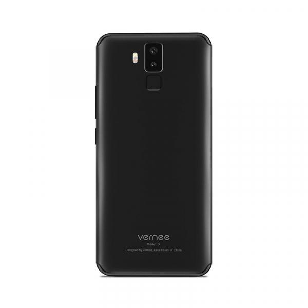Telefon mobil Vernee X 4G, Ecran curbat 6.0 inch, Face ID, Amprenta, Android 7.1, Octa Core, 4GB RAM 64GB ROM 13