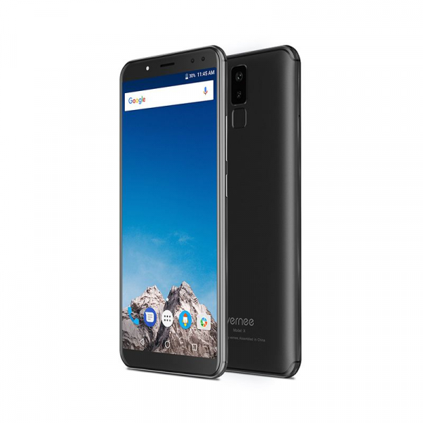 Vernee X1 4G, Ecran curbat 6.0 inch, Reconoastere Faciala, Amprenta, Android 7.1, Helio P23 Octa Core, 6GB RAM 64GB ROM 5