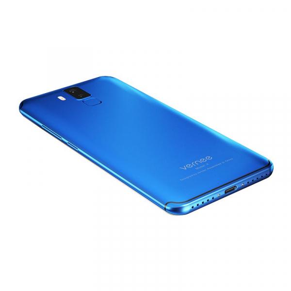 Vernee X1 4G, Ecran curbat 6.0 inch, Reconoastere Faciala, Amprenta, Android 7.1, Helio P23 Octa Core, 6GB RAM 64GB ROM 10