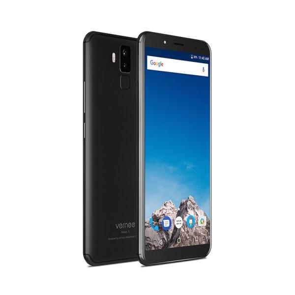 Vernee X1 4G, Ecran curbat 6.0 inch, Reconoastere Faciala, Amprenta, Android 7.1, Helio P23 Octa Core, 6GB RAM 64GB ROM 7