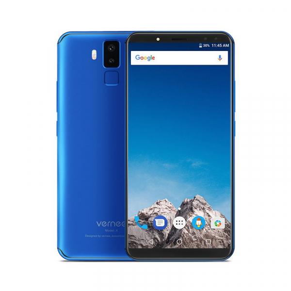 Vernee X1 4G, Ecran curbat 6.0 inch, Reconoastere Faciala, Amprenta, Android 7.1, Helio P23 Octa Core, 6GB RAM 64GB ROM 2