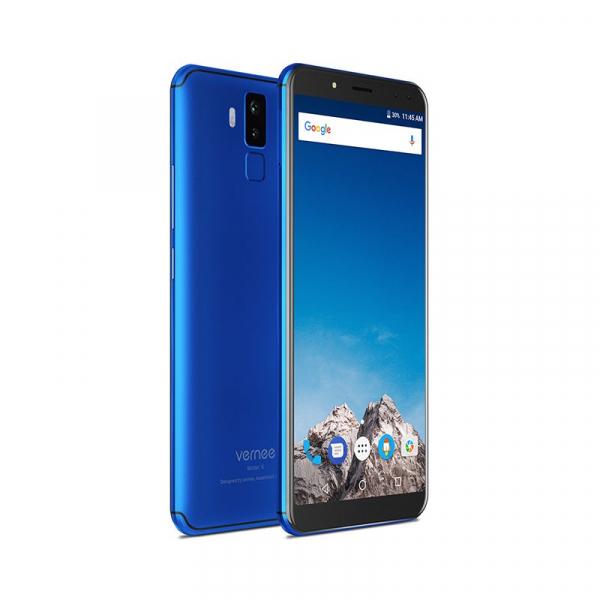 Vernee X1 4G, Ecran curbat 6.0 inch, Reconoastere Faciala, Amprenta, Android 7.1, Helio P23 Octa Core, 6GB RAM 64GB ROM 8