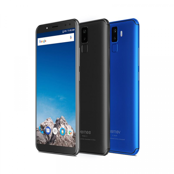 Vernee X1 4G, Ecran curbat 6.0 inch, Reconoastere Faciala, Amprenta, Android 7.1, Helio P23 Octa Core, 6GB RAM 64GB ROM 0