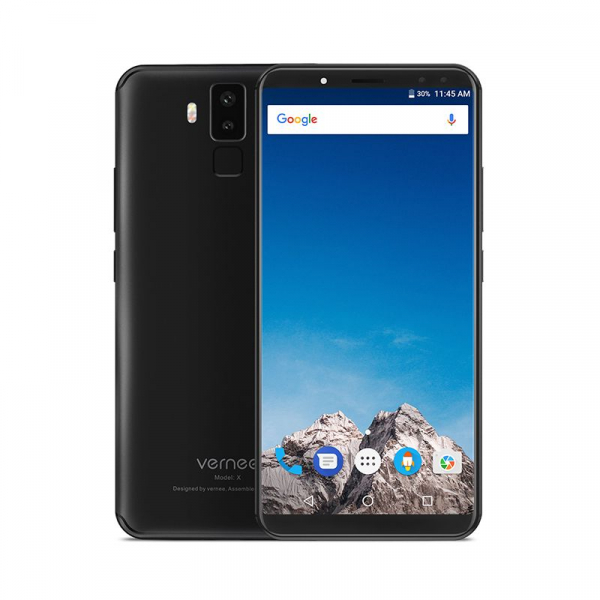 Vernee X1 4G, Ecran curbat 6.0 inch, Reconoastere Faciala, Amprenta, Android 7.1, Helio P23 Octa Core, 6GB RAM 64GB ROM 1