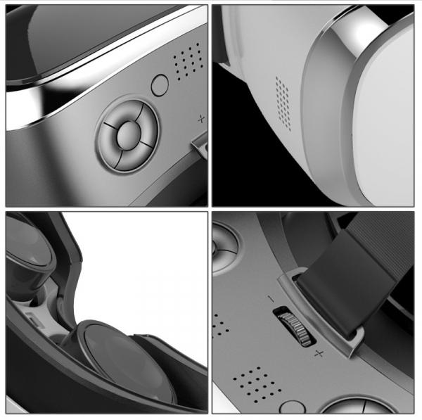 Ochelari realitate virtuala VR Motion V3H PRO All in One, 3gb ram, display 2k incorporat, controller, telecomanda 2