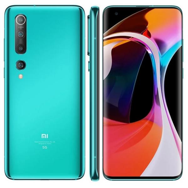 Telefon mobil Xiaomi Mi 10 5G 8/256 Global Verde 3