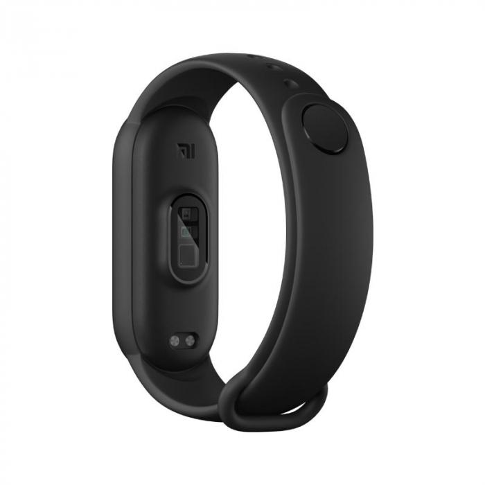 Smartband Xiaomi Mi Band 6 Negru cu folie si bratara cadou [4]