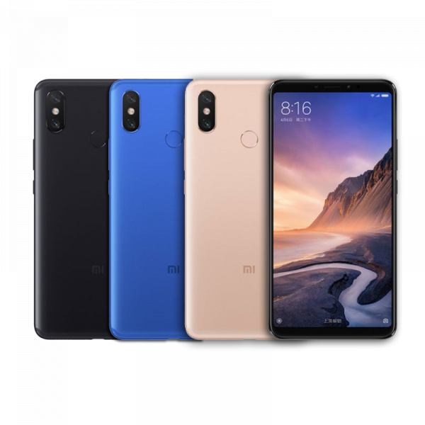 Telefon mobil Xiaomi Mi Max 3 4G, Android 9, Amprenta, Incarcare rapida, 6.9 Inch, 4GB RAM, 64GB ROM, Camera Dubla, Dual-SIM, Octa-Core 0