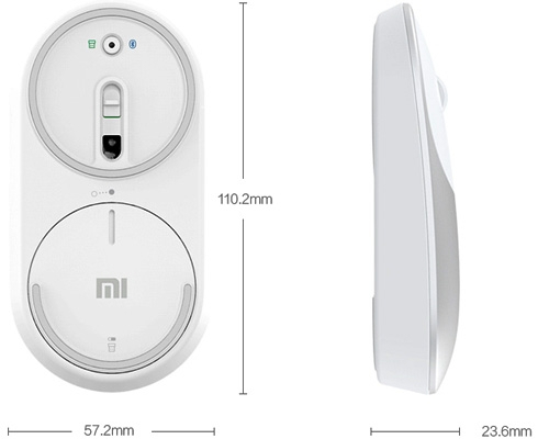 Mouse wireless Xiaomi Mi Mouse dual mode 6