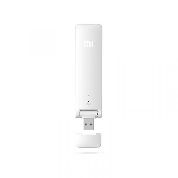 Dispozitiv pentru extinderea razeiwireless Xiaomi Mi WiFi Repeater 2, 300 Mbps, 2.4 GHz, 2 antene incorporate 5