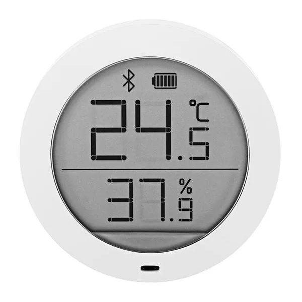 Higrotermograf Xiaomi Mijia, senzor wireless de temperatura si umiditate digital cu bluetooth, LCD 1.78inch 0