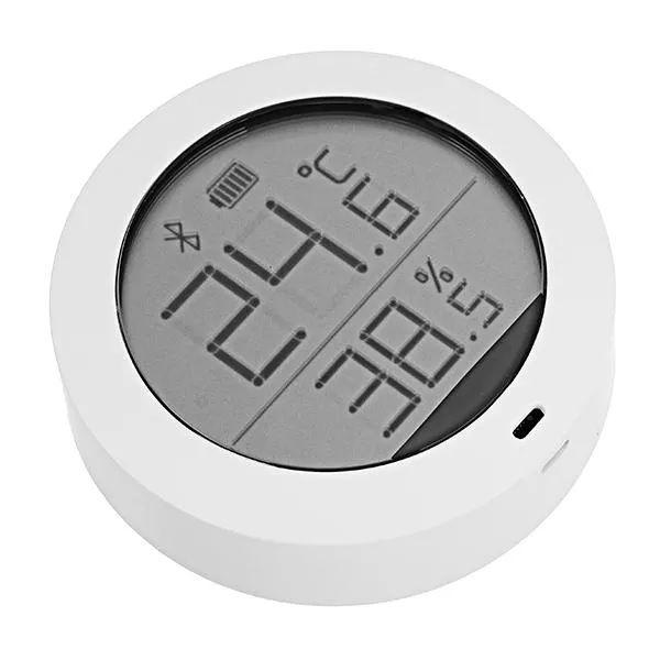 Higrotermograf Xiaomi Mijia, senzor wireless de temperatura si umiditate digital cu bluetooth, LCD 1.78inch 2