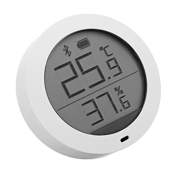 Higrotermograf Xiaomi Mijia, senzor wireless de temperatura si umiditate digital cu bluetooth, LCD 1.78inch 1
