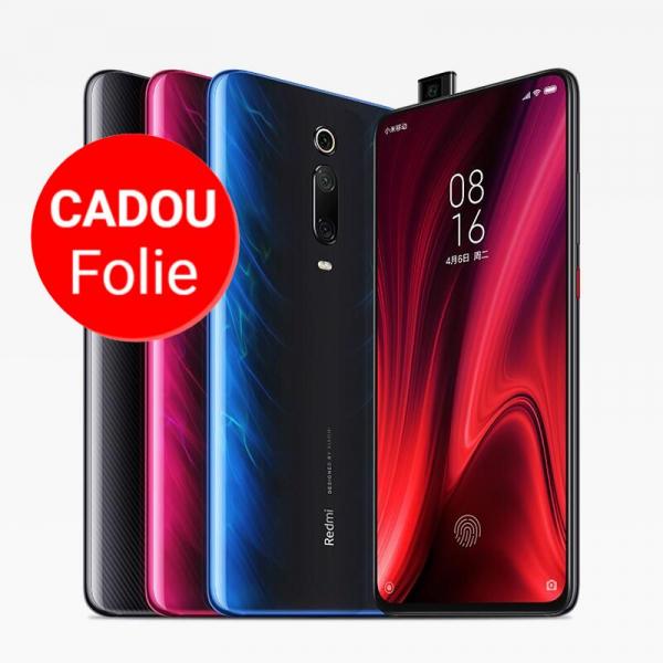 Telefon mobil Xiaomi Redmi Mi 9T, Super AMOLED 6.39 inch, 6GB RAM, 64GB ROM, Android 9.0, Snapdragon 730 OctaCore, 4000mAh,48MP Triple Camera, NFC, Global 0