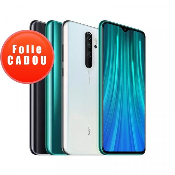 Telefon mobil Xiaomi Redmi Note 8 Pro, 6.53 inch, Helio G90T,6GB RAM, 128GB ROM, Android 9.0 cu MIUI V10, Octa-Core, 4500mAh, Global 0