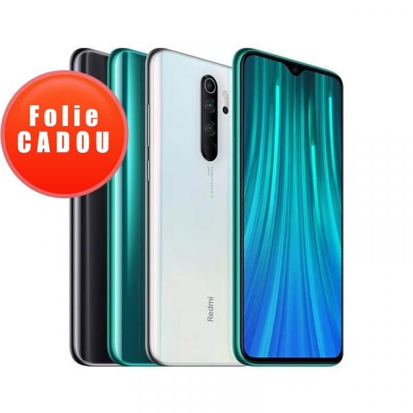 Telefon mobil Xiaomi Redmi Note 8 Pro, 6.53 inch, Mediatek Helio G90T,6GB RAM, 64GB ROM, Android 9.0 cu MIUI V10, Octa-Core, 4500mAh 0