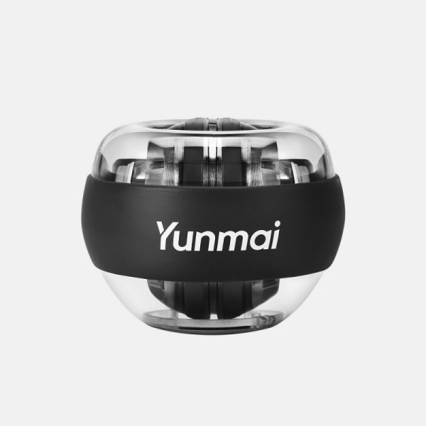 Giroscop de mana cu LED-uri Xiaomi Yunmai Wrist Trainer Negru pentru antrenarea bratelor, Anti-stres, Intarire tendoane si incheietura imagine