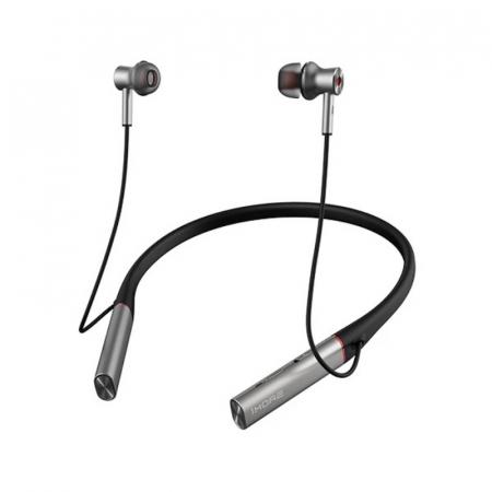 Casti bluetooth in-ear cu guler 1More Dual Driver BT ANC, 99dB, 32Ω, ANC, ENC, Diafragma titan, Microfon, Design magnetic, Control vocal0